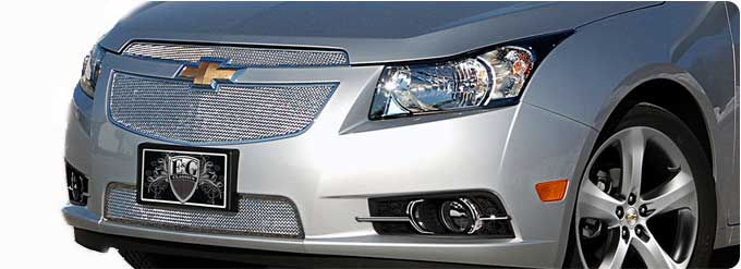 Billet grilles for chevy cars