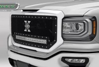 "Torch Series X Metal Custom Grille With 30"" LED Light Bar SLE/SLT"