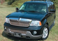 Stainless Steel Chrome Vertical Grille & Bumper Grille