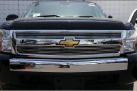 Ultimate Thick Bar Billet Grille (2pc Bolt-On)