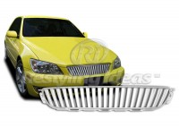 All Chrome ABS Custom Replacement Vertical Grille