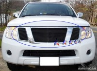 Billet Grille Bolt-On (3pc) (All Black)