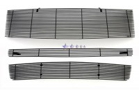 Custom Billet Grille Set (3pc) All Black
