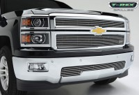 14-15 Silverado Z71 Billet Grille Overlay (2pc) (Polished)