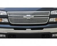 Speed Grille Steel (2pc) (Chrome)