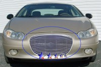 Billet Grille Overlay (Polished)
