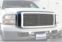 Triple Nickel Chrome Replacement Grille Shell w/Billet Grille