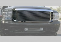 Complete Replacement Chrome Grille w/Polished Billet Grille