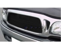 All Black Billet Grille Insert (Covers 3 Openings)