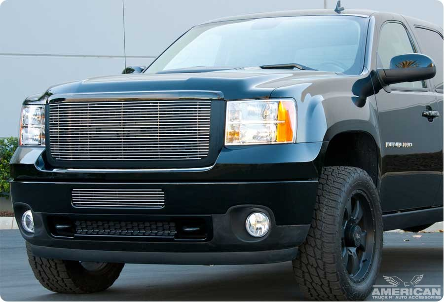 Custom Billet Grille Insert (Polished) - Click Image to Close