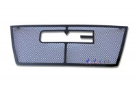 Black Stainless Steel Mesh Grille Overlay