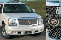 Classic Heavy Metal Mesh Grille