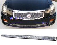 Stainless Steel Mesh Bumper Grille (Chrome)