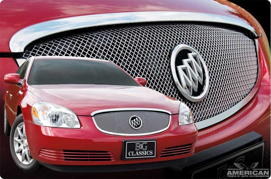 Stainless Steel Custom Chrome Mesh Grille - Click Image to Close