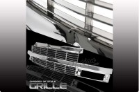 All Chrome Factory Style Replacement Grille