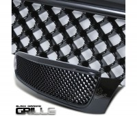 All Black Mesh Grille Assembly