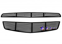 CNC Machined Perimeter Billet Grille (2pc) (All Black)