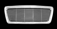 Billet Style Chrome ABS Replacement Grille