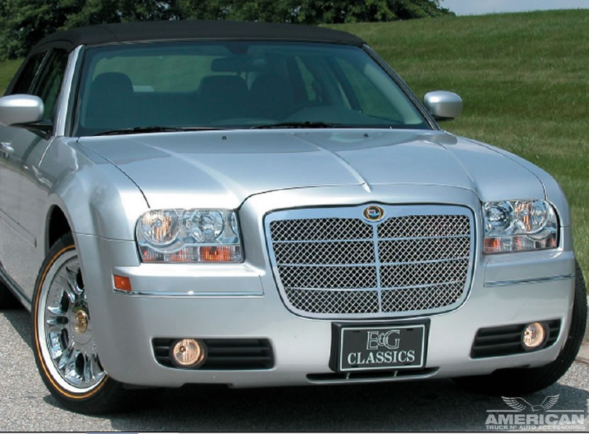 Stainless Steel Euro Style Mesh Grille 1099 0103 05 American