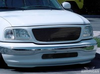 Billet Grille Insert (All Black)