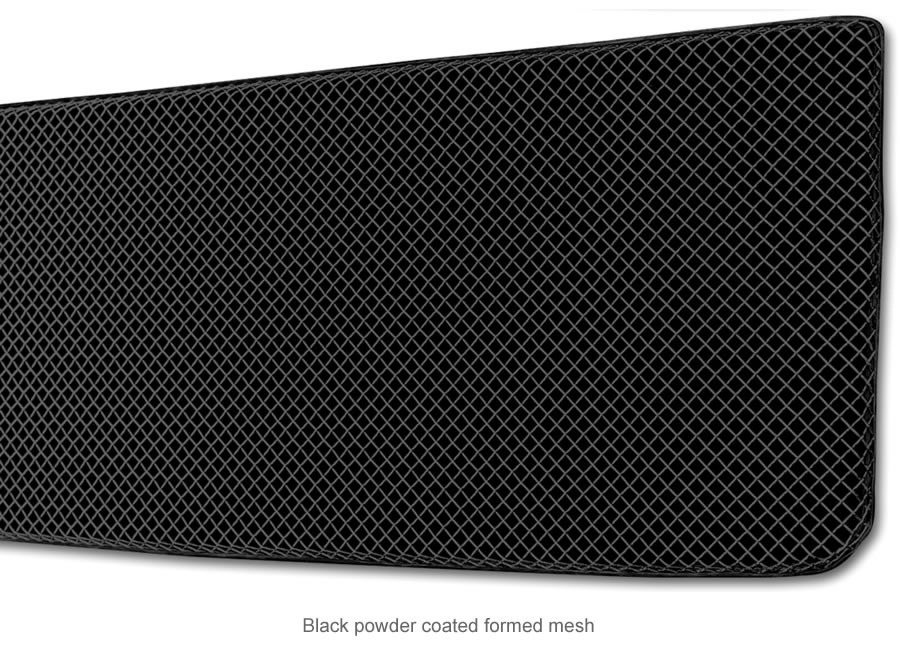Sport Series Formed Mesh Grille Insert (Black) - Click Image to Close
