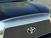 Mesh Style Top Grille Accent (Chrome)