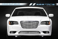 Stainless Steel Chrome Plated Billet Grilles (Upper & Lower)