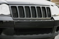 Diamond Cut Black Mesh Grille Inserts