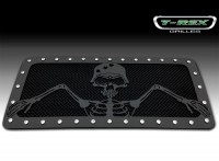 "Urban Assault ""GRUNT"" Custom Black Mesh Chrome Studded Grille"