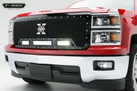 X METAL Torch Series Custom Grille w/LED Driving Lights