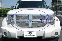 Stainless Steel Chrome Mesh Grille (4pc)