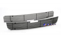 All Black Billet Grille Overlay (2pc)