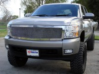 Upper Class Chrome Replacement Mesh Grille (1pc)