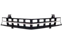 OEM Style ABS Replacement Grille (Black & Chrome)