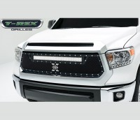 X METAL Torch Series Custom Grille w/Single LED Driving Light
