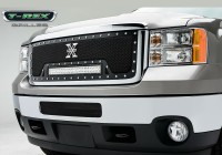 aTorch Series X Metal Custom Grille w/LED Driving Lights
