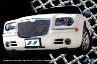 Chrome Plated Stainless Steel Mesh Grille