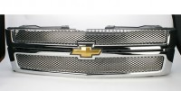 Speed Grille Chrome Plated Stainless Steel (2pc Bolt-On)