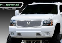 X Metal Custom Chrome Mesh Chrome Studded Grille (Chrome)