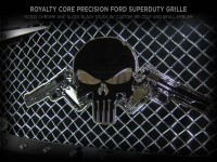 Universal Grille Logo - Punisher with Colt 1911's