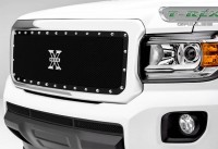 X Metal Custom Mesh Style Grille (Chrome or Black)