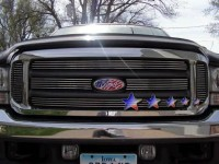 Multi Piece Billet Grille Inserts (Polished) (6pc)