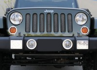 Sport Series Mesh Grille Inserts (ALL CHROME)