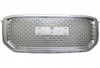 All Chrome ABS OEM Replacement Mesh Style Grille