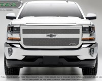 Upper Class Mesh Grille w/Single Bar (Chrome or Black )