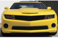 Chevy Camaro All Black Mesh Grille