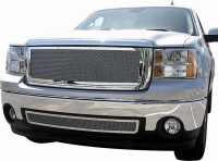Stainless Steel Custom Fine Mesh Grille (Chrome)