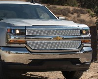 Custom Mesh Grille (2pc) (Chrome)