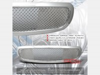 All Chrome Custom Mesh Style Replacement Grille