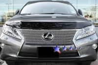 Cross Mesh Chrome Stainless Steel Grille